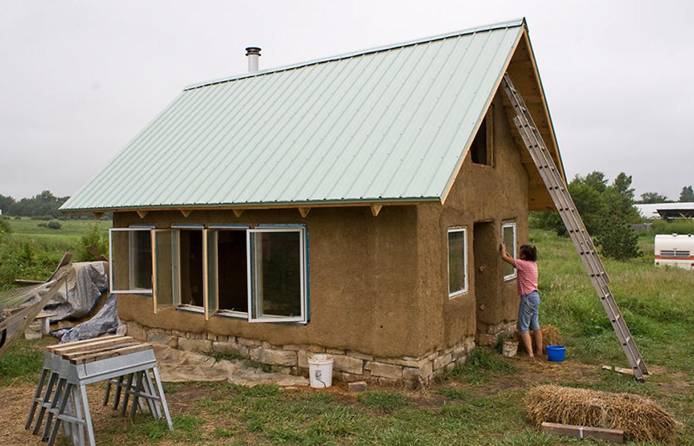 cob home, cob house, corn cob house