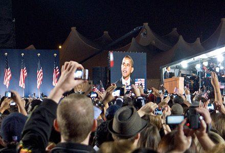 november 4 2008, election night 2008, grant park 2008, grant park nov 4
