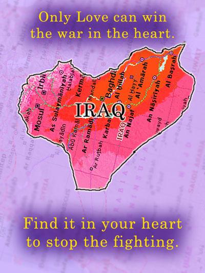 iraq map, iraq heart, iraq valentine