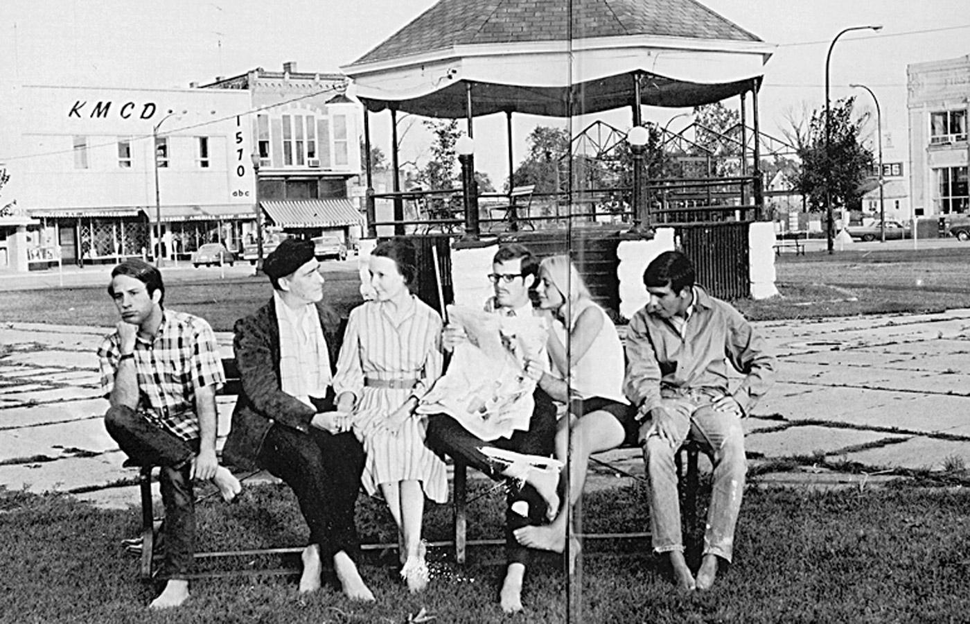 Parsons College Fairfield, Parsons College, fairfield square 1960s