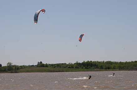 kiteboarding, iowa kiteboarders