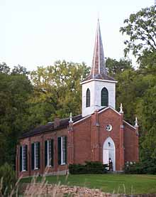 Bentonsport Presbyterian Church, John Stimson