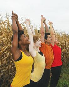 yoga festival, iowa city yoga festival, outdoor yoga