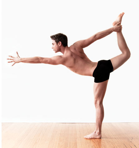 ben easter, yoga pose, yoga for men