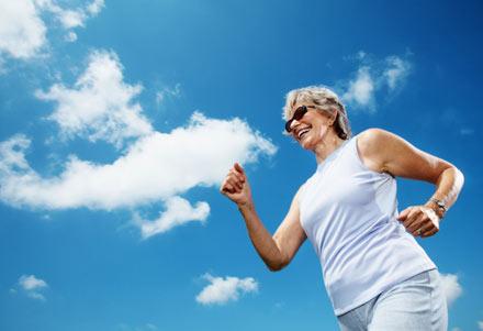 woman running, woman exercising
