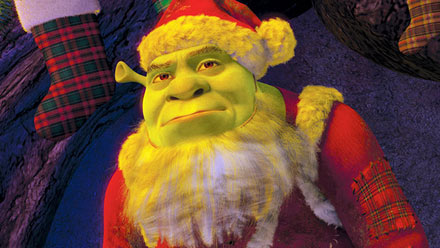 shrek, shrek the halls