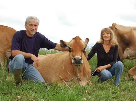 francis thicke, susan thicke, radiance dairy, fairfield iowa,