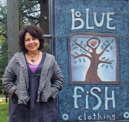 jennifer barclay, blue fish clothing