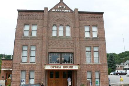opera house, elkader opera house