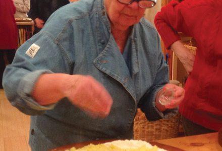 gisella isidori, polenta taragna, at home store