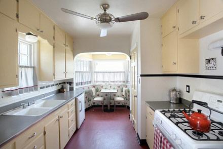 1930s kitchen, lauryn shapter