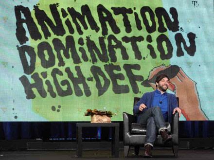 animation domination, nick weidenfeld
