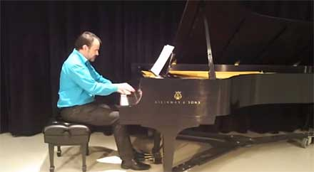 Alan Huckleberry, UI piano project