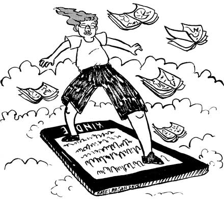kindle, surfing kindle