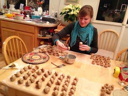 cookie making, meredith siemsen
