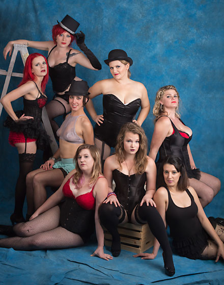 burlesque, feist club, iowa burlesque