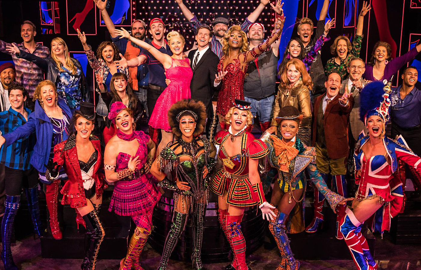 Kinky boots arrives at hancher for a rare five show run for Cyndi lauper broadway kinky boots