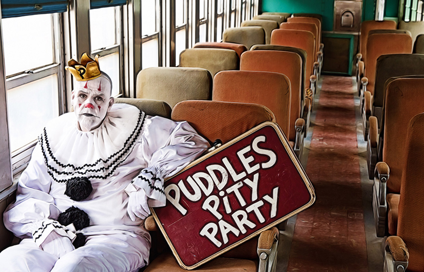 puddles pity party sad clown with a golden voice iowa source